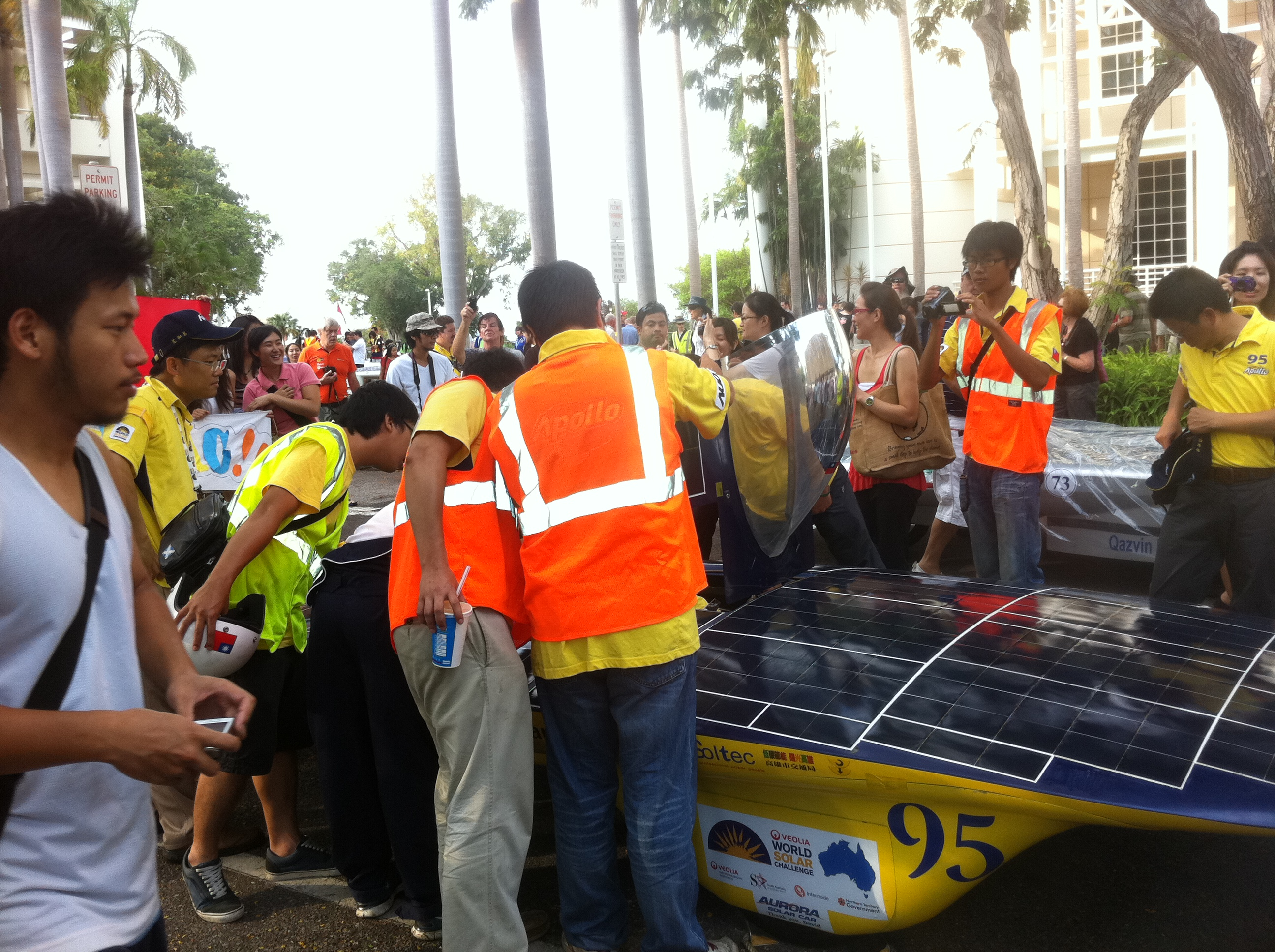 Apollo Solar Car Team's Apollo VI (Taiwan)