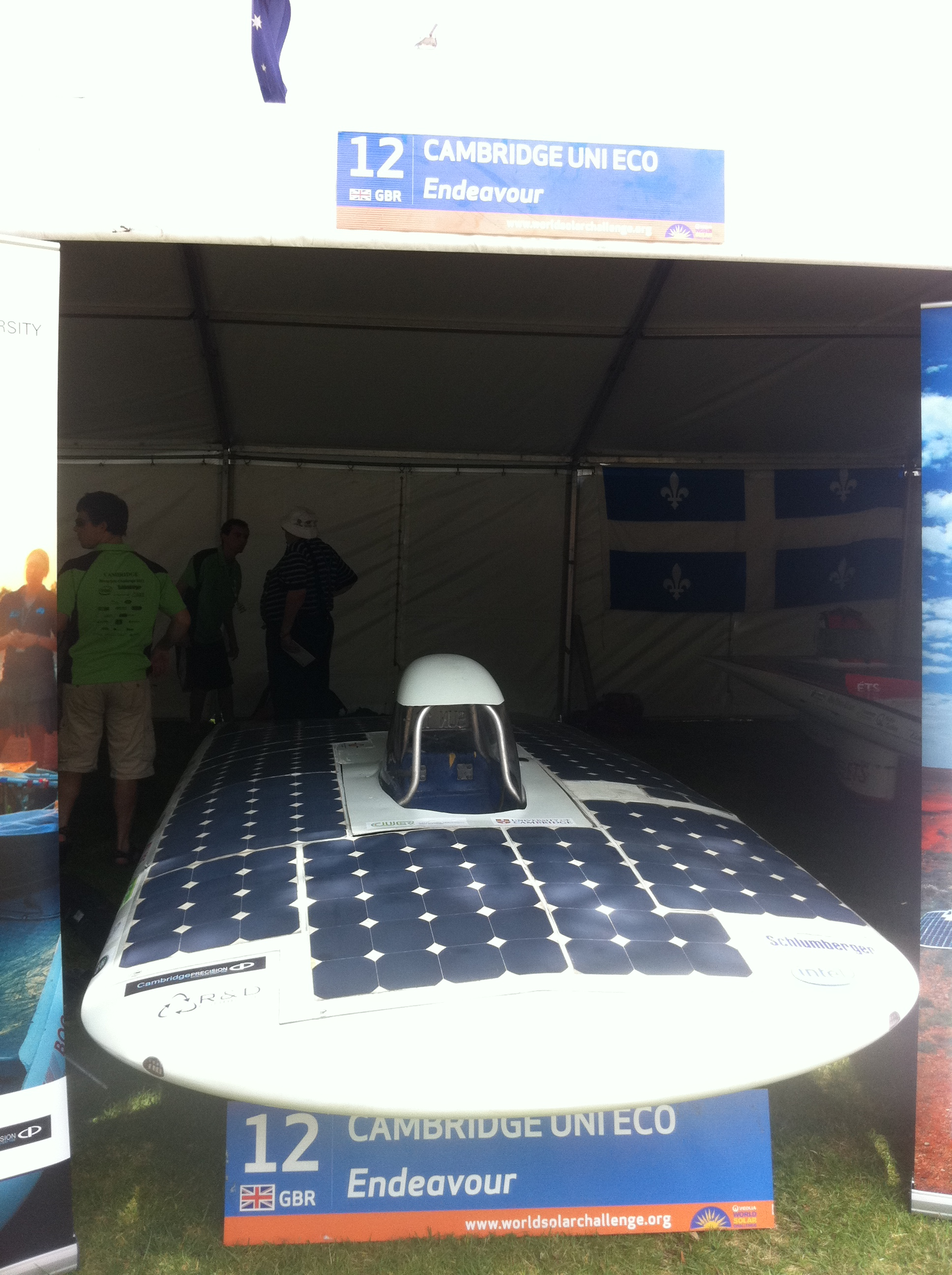 Cambridge University Eco Racing's Endeavour (UK)