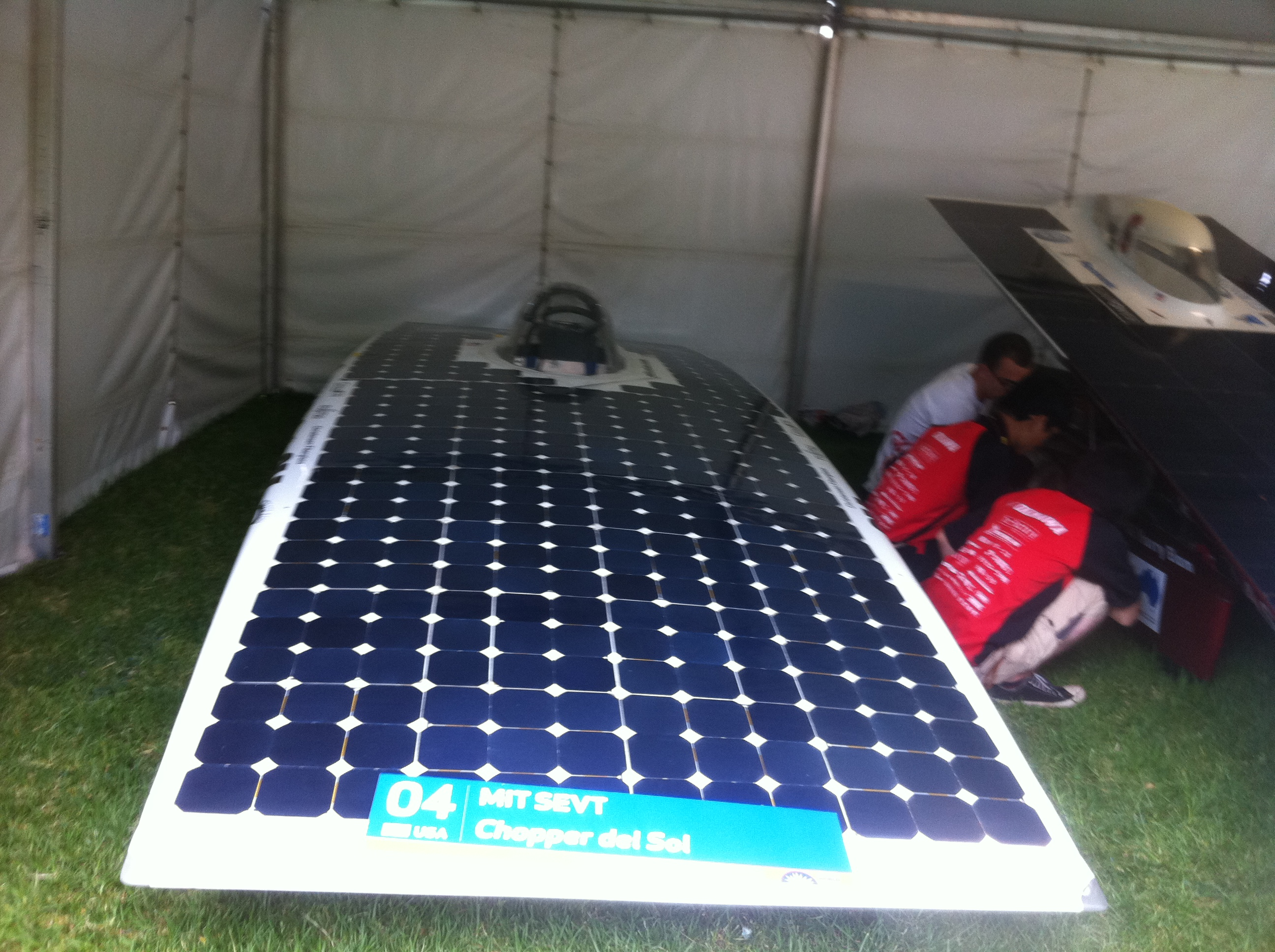 MIT Solar Electric Vehicle Team's Chopper Del Sol (USA)