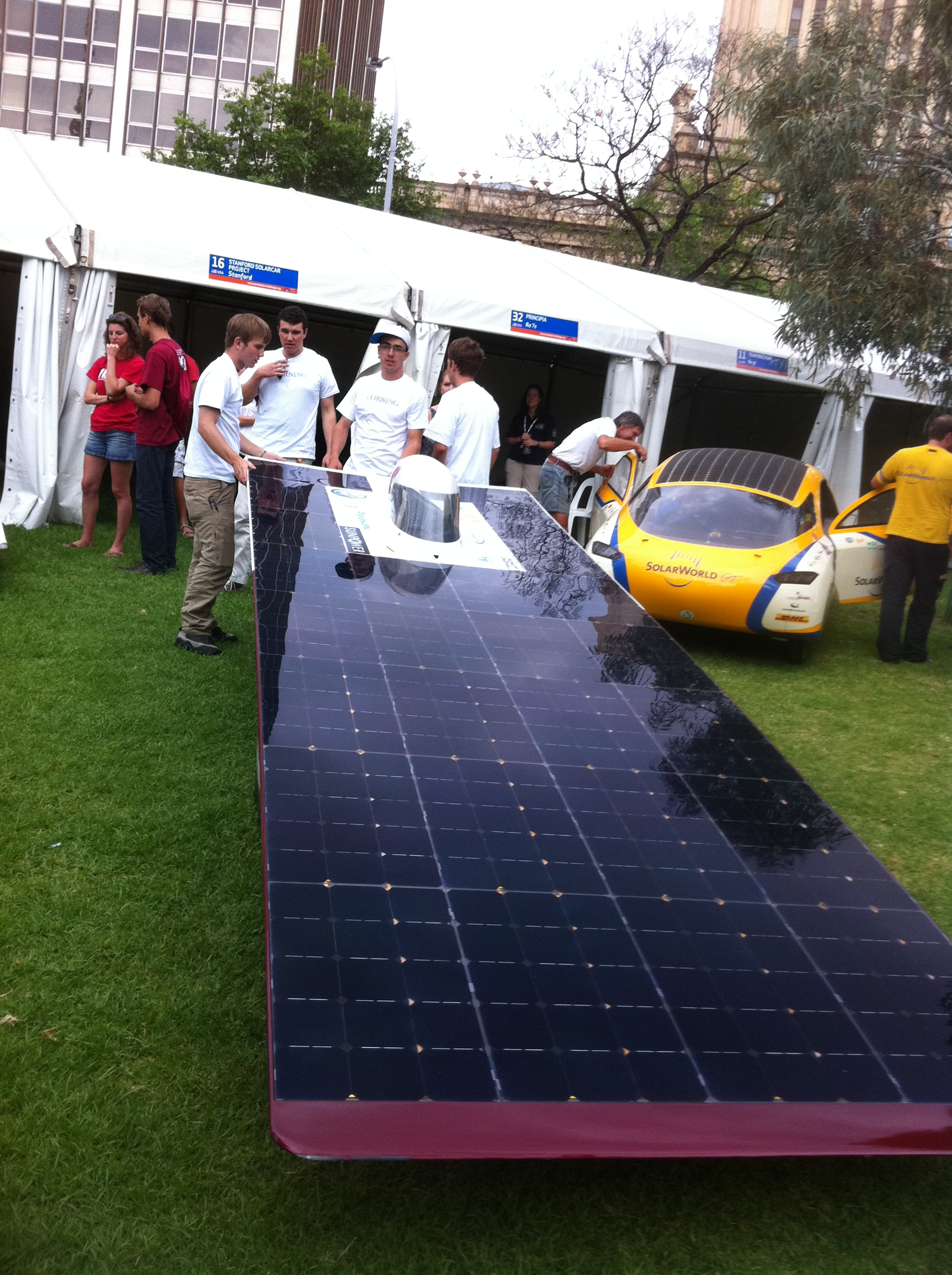 Stanford Solar Car Team's Xenith (USA)