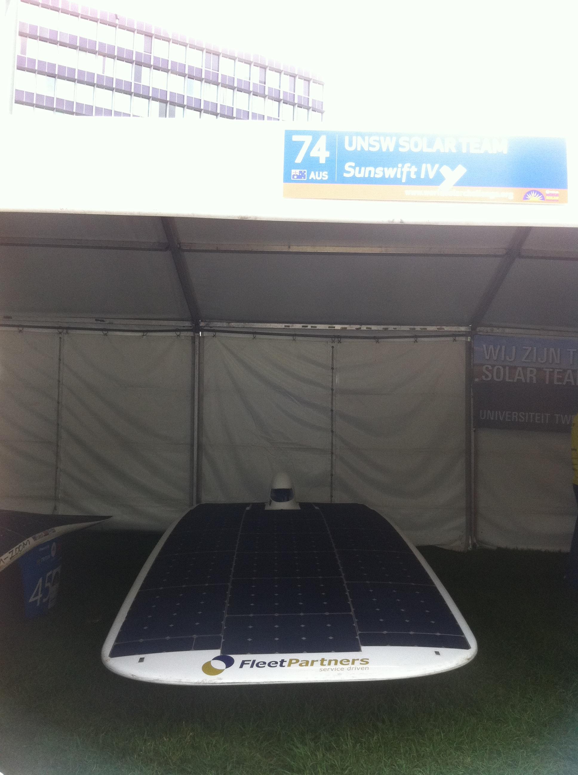Sunswift UNSW Solar Team's Sunswift IV (Australia)