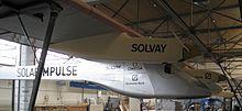 Solar Impulse HB-SIA fuselage & engine