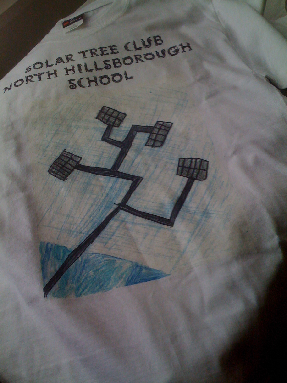 Solar Tree Club t shirt