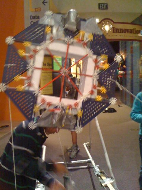 Solar Tree-Using Legos & Kinex Toys