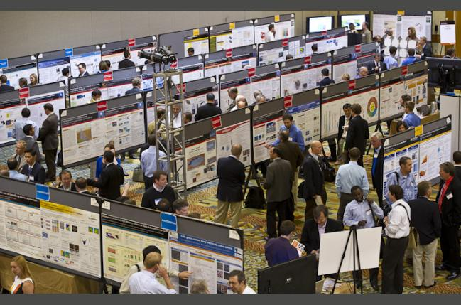 SunShot Researchers participate in a poster session at the Technology Forum at the SunShot Grand Challenge Summit (Creative Commons)