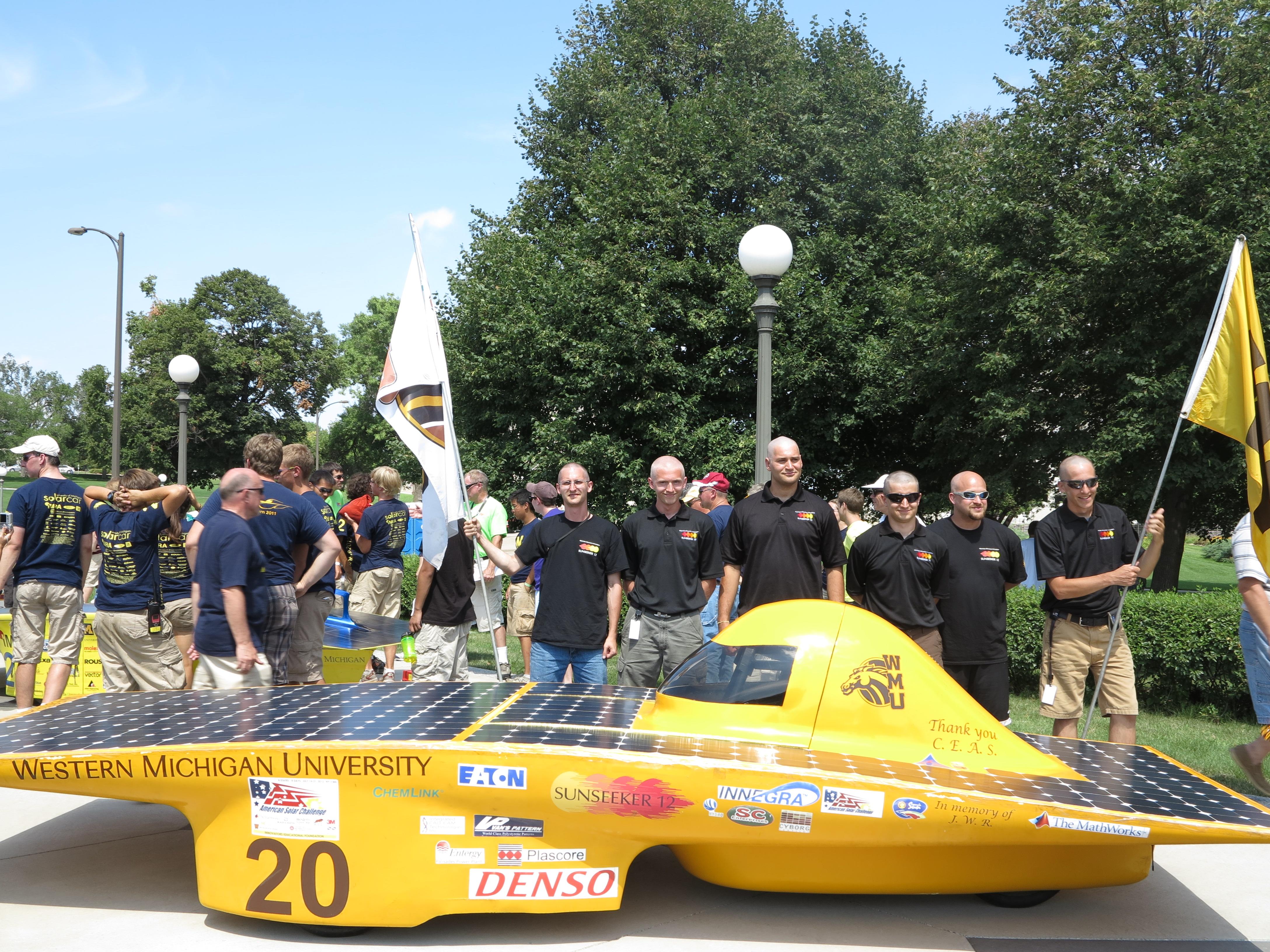 ASC2012 Western Michigan Univ  w team members 1