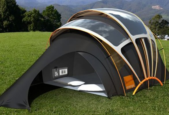 S. Military Solar Tent Or Mobile Home Design