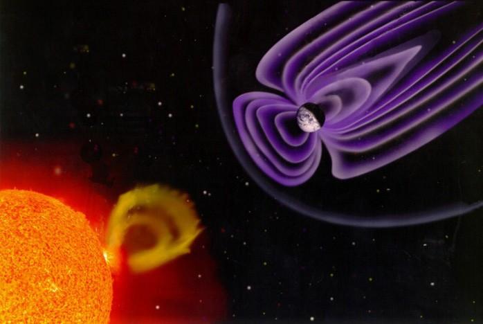 rbsp-solar-probe-2 van allen belt interaction of sun and earth magnetic field