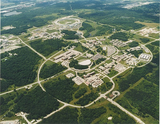 Aerial view of the Argonne National Laboratory Image Credit Argonne National Laboratory