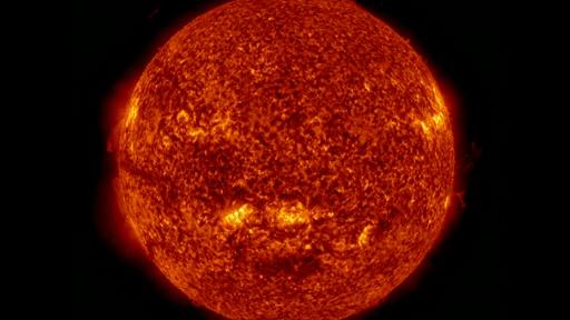 Sun's warmth round
