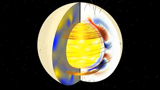 Sun's CME flux ropes & mag field internal