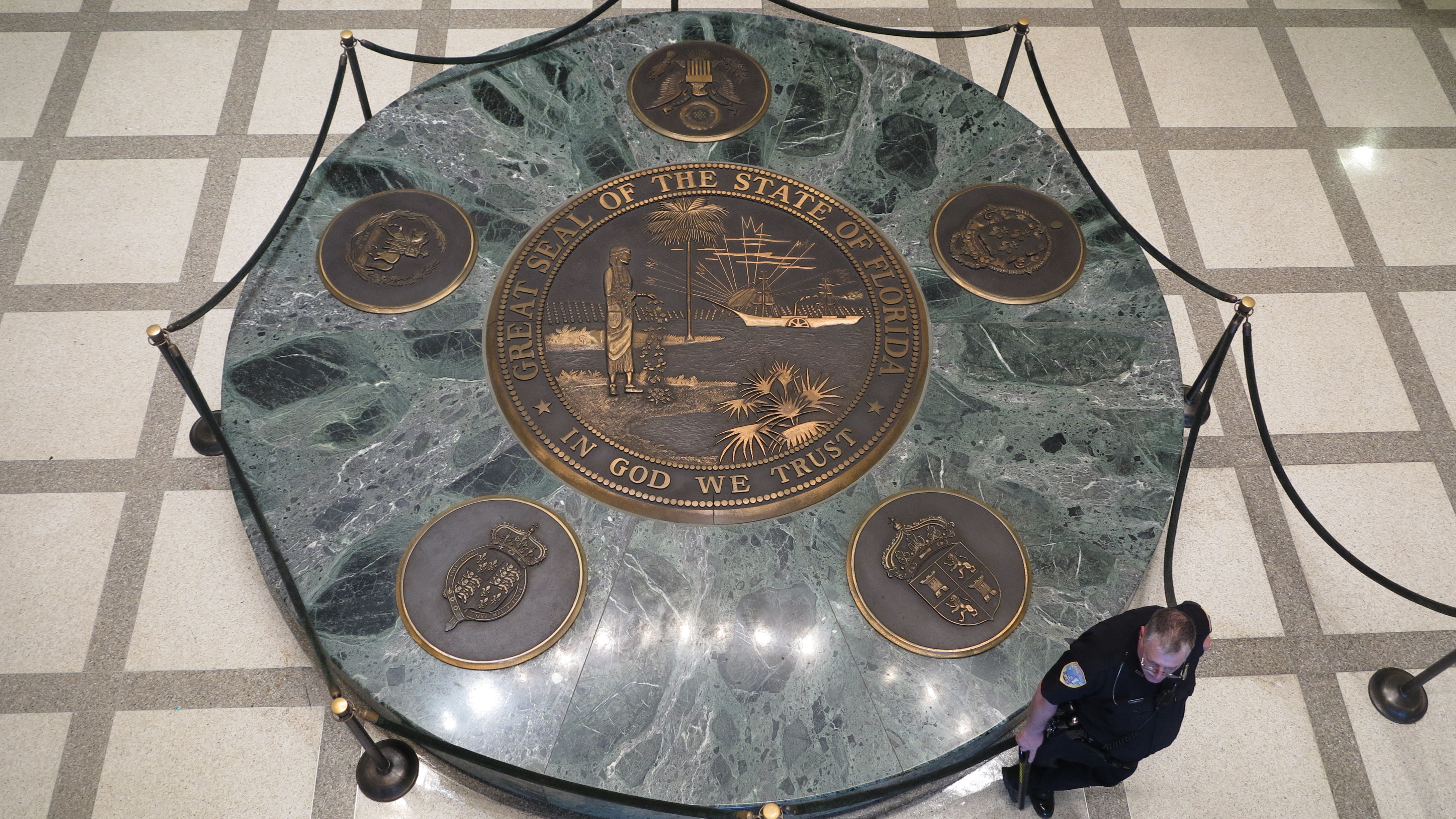 The Great Seal of State of FL 1 2013