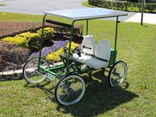 the real green machine 2-seater