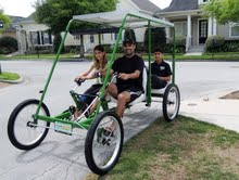the real green machine 5-seater