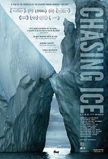 Chasing_Ice_poster directed by Jeff Orlowski
