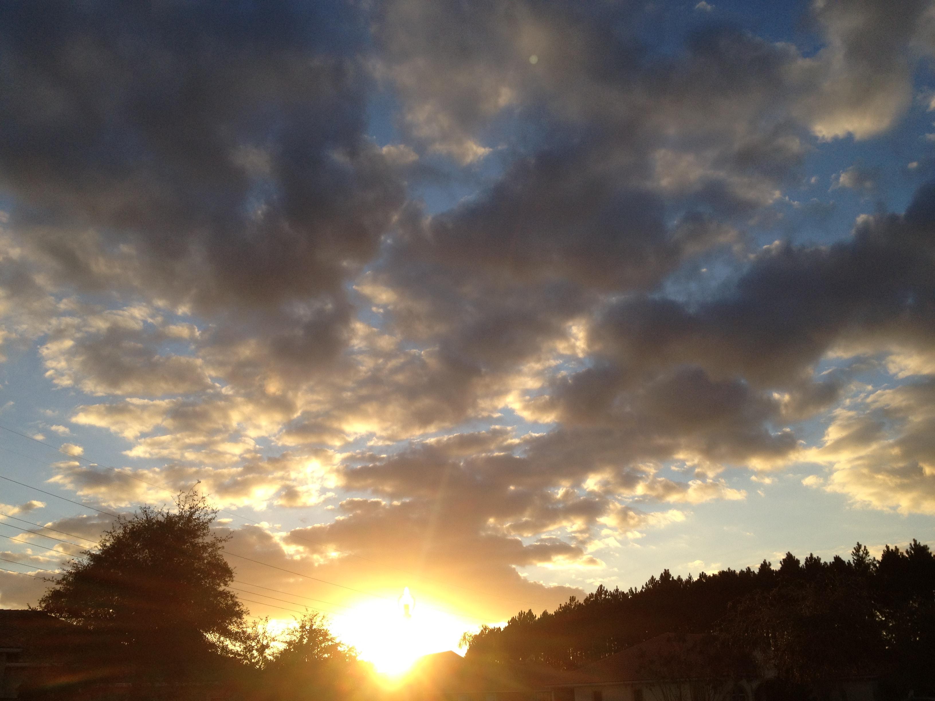 Sunrise for announcing Online Sunisthefuture Store blog