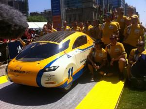 World Solar Challenge 2011 Adelaide Australia German's SolarWorld GT