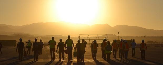 Solar Decathlon 2013 of U.S. Department of Energy-Collegiate teams at Orange County Great Park, Irvine, CA