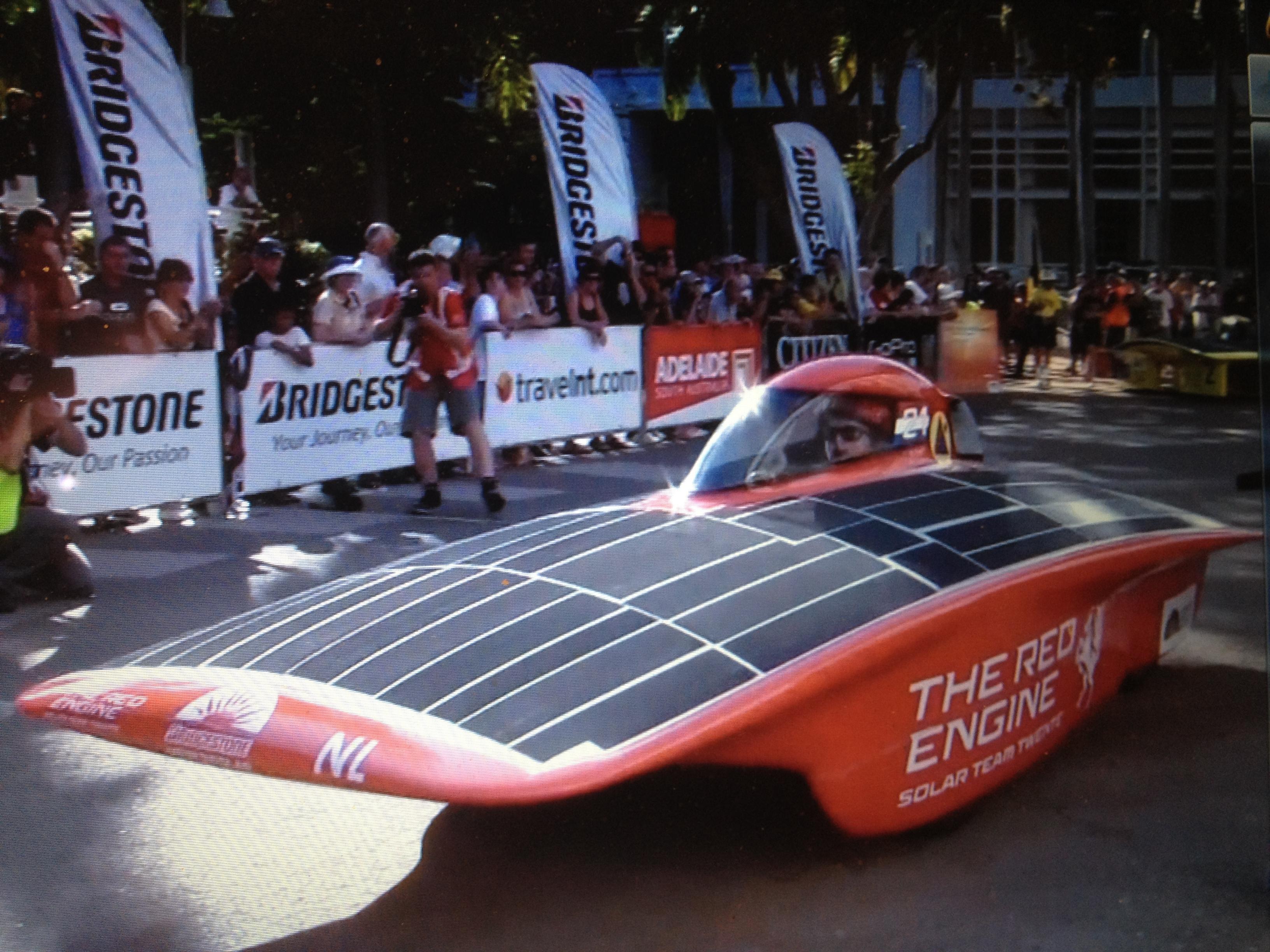 WSC2013-Team Twente (Netherlands)'s The Red Engine
