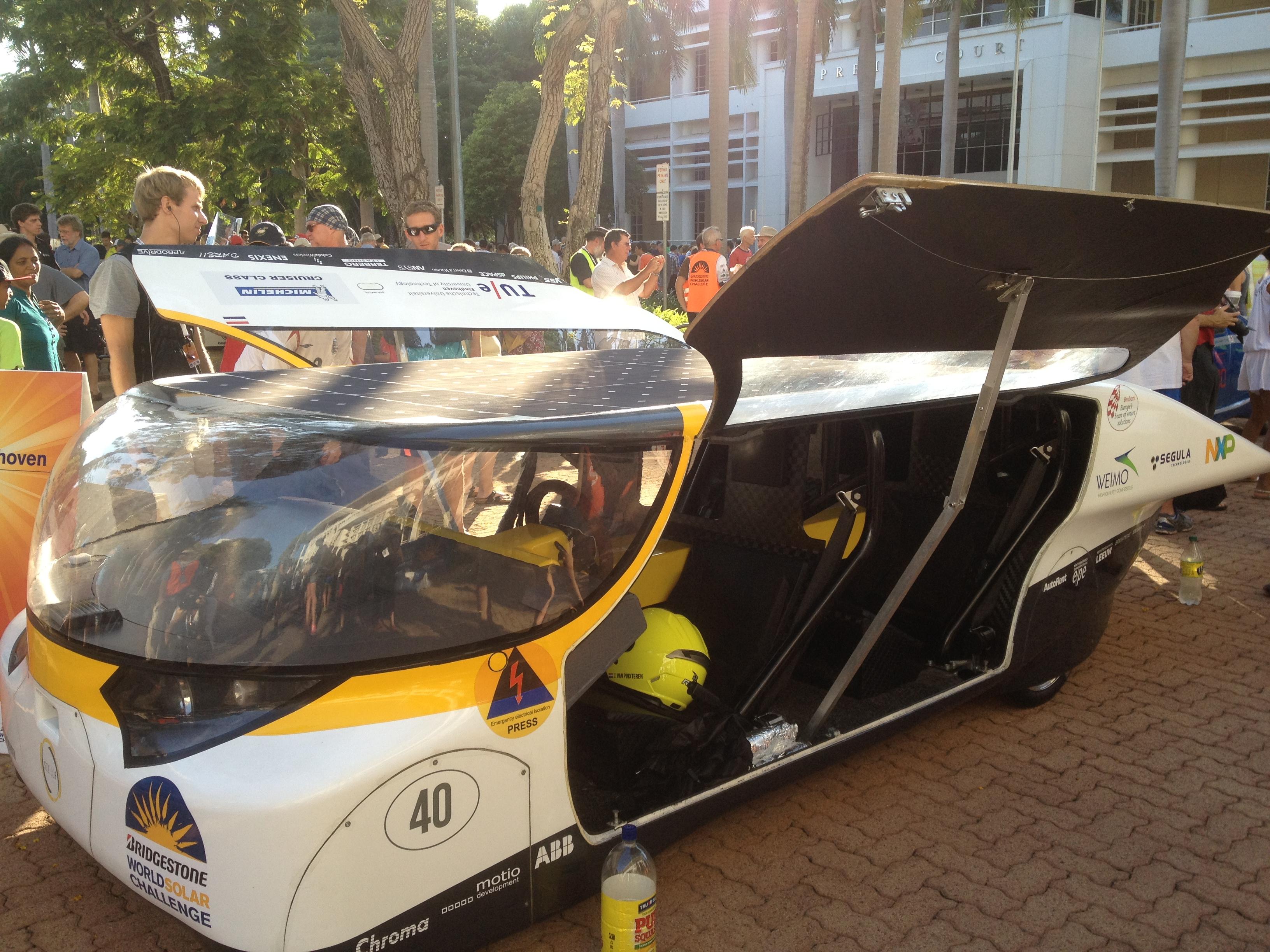World Solar Challenge 2013-Stella of Eindhoven Team