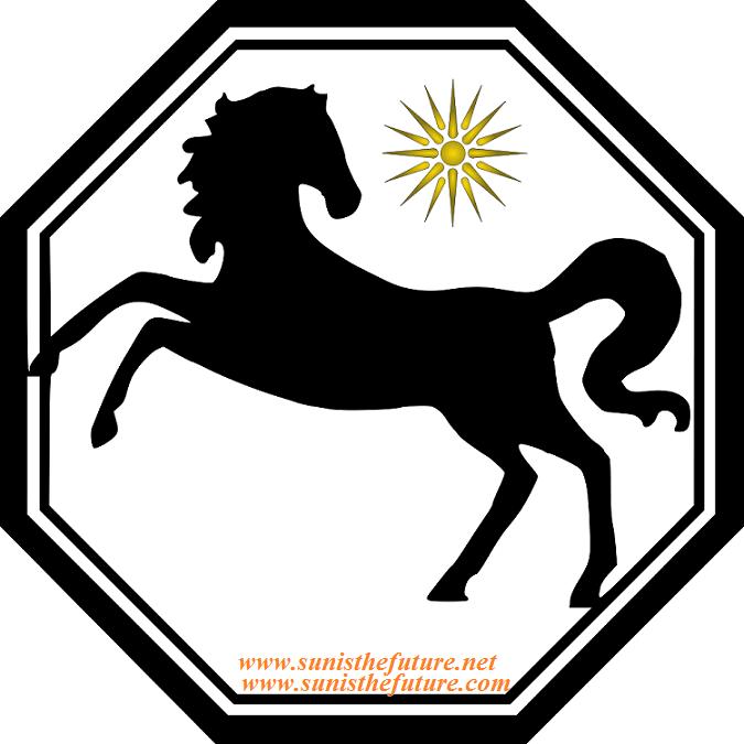 Horse and sun symbols final at store