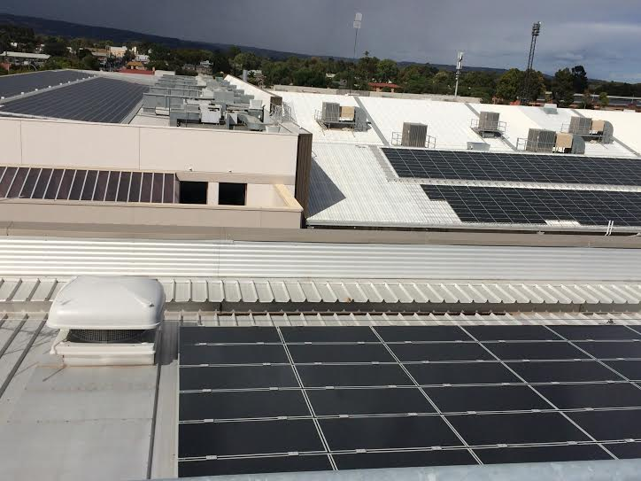 Adelaide Showground Solar Panels11