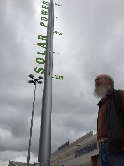 Adelaide Showground Solar Power Meter w papa bear