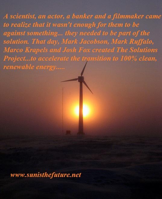 Wind turbine in Alaska