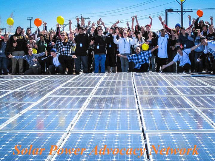 Solar Power Advocacy Network (credit Solar Power Advocacy Network)