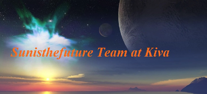 Sunisthefuture Team at Kiva logo at 0.75