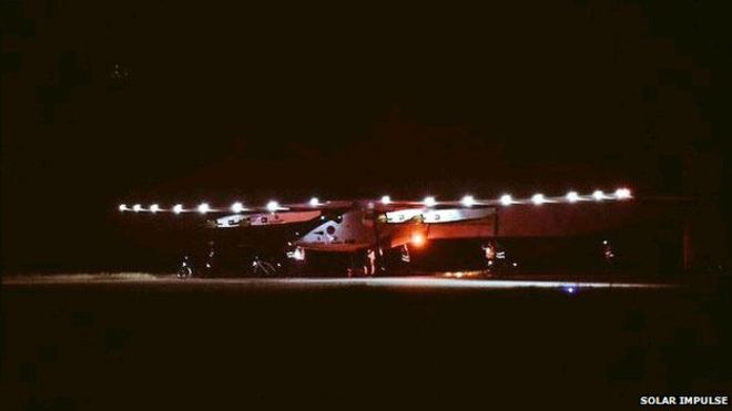 Solar Impulse 2 Touchdown in Mandalay