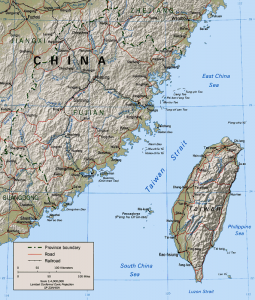 Taiwain, Taipei, Taiwan Strait (Public Domain)