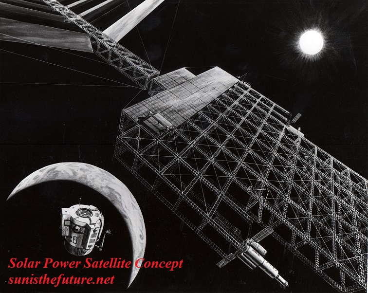 Solar Power Satellite Concept (NASA)