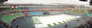 Taiwan National Stadium at World Games Main Stadium-Panorama view (CC Attrib-Smarway777)
