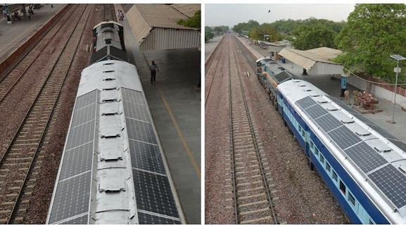 Indian Solar Train photographed by Anil Kumar Chhatri or credit citymetric.com