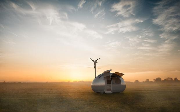 Ecocapsule (credit: Ecocapsule of Nice Architects)