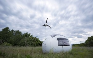 Ecocapsule being self-sufficient (credit: Ecocapsule of Nice Architects)
