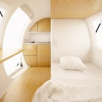 Ecocapsule interior (credit: Ecocapsule of Nice Architects)