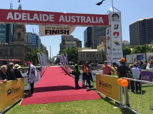 Red Carpet awaits for all the Solar Cars of World Solar Challenge 2015 (credit: sunisthefuture-Susan Sun Nunamaker)