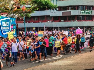 Climate March Nov 2015-Fiji (credit: 350.org)