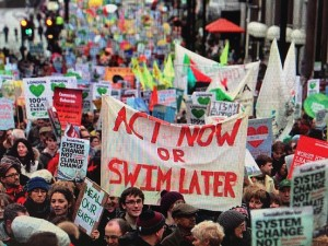 Climate March Nov 2015-London England (credit: 350.org)