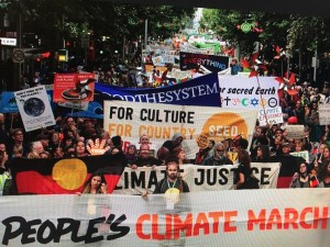 Climate March Nov 2015-Melbourne, Australia (credit: 350.org)