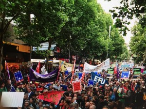 Climate March Nov 2015-Melbourne, Australia2 (credit: 350.org)