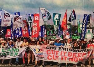Climate March Nov 2015-Quezon City Philippines (credit: 350.org)