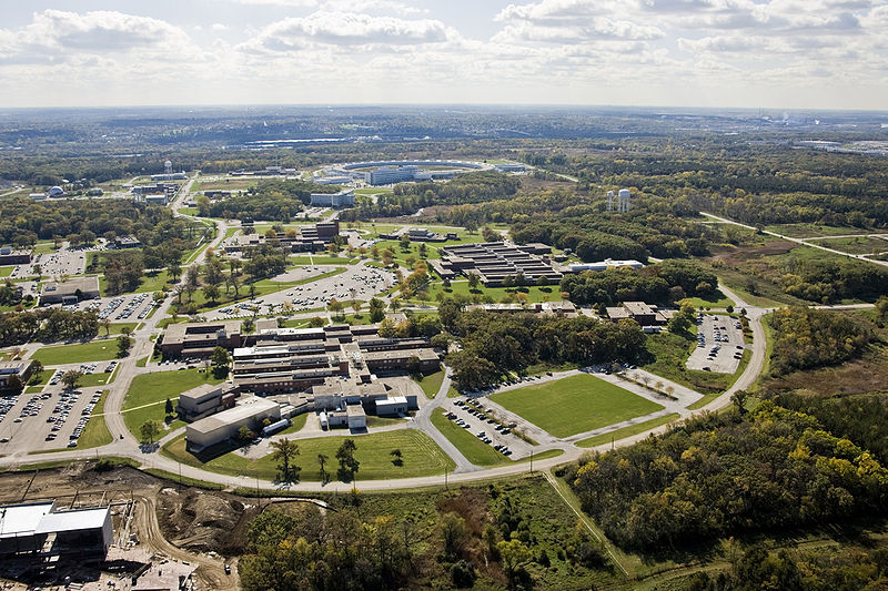 Argonne Natinal Lab aerial view