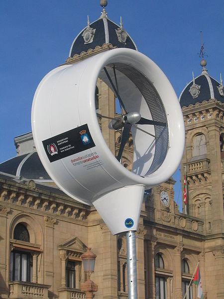 Local wind generator in Spain 2010 creative commons share alike