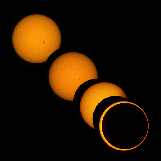 Partial & Annular Solar Eclipse (May 20,2012, CC attribution: Brocken Inaglory)