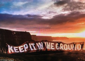 Climate March Nov 2015-Cliffs of Moher, Ireland (credit: 350.org)