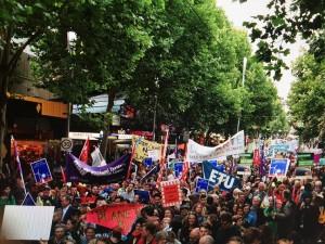 Climate March Nov 2015-Melbourne, Australia2 (credit: 350.org)