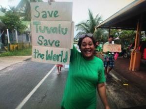 Climate March Nov 2015-Tuvalu (credit: 350.org)